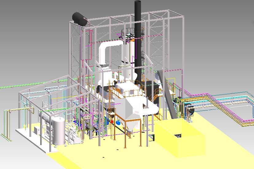 Centrala cogenerare de inalta eficienta pe biomasa si tehnologie ORC